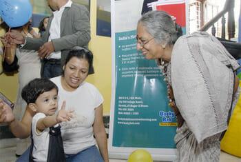 Jayashree with children