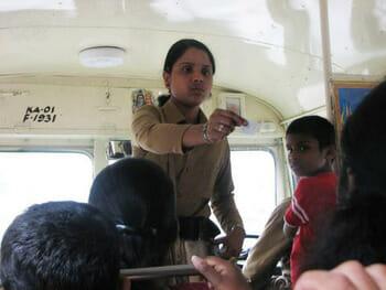 women conductors in bmtc buses