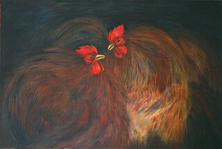 Painting by Prakash Michael
