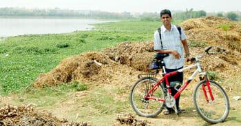 Murali Ramnath, member, RideACycle Foundation