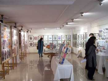Exhibition of Mario Miranda's work