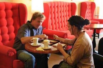 Matteo coffee house customers