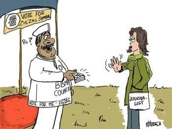 BBMP elections cartoon