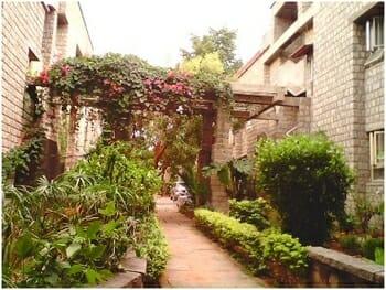 Green campus of Jal Vayu Vihar