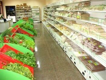 An organic store, Bangalore