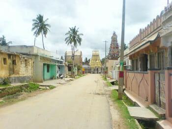 A view of the main street - Inside the fort, Devanahalli fort, benagalore, bengalooru, bengaluru