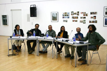 Panelists at the meeting (Pic: Rithesh Swamy)