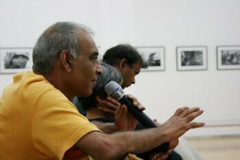 Citizen asks a question (Pic: Rithesh Swamy)