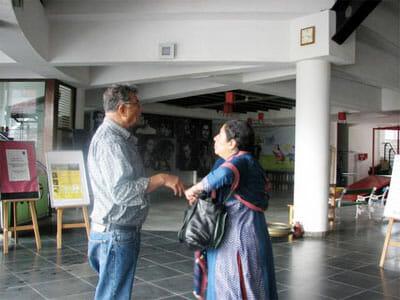 Arundhati nag with girish karnad
