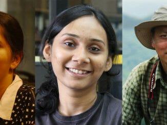 Image:Dr. Jahnavi Joshi, Anupama Prakash and Dr. Krushnamegh Kunte
