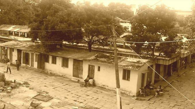 A photo of old Malleswaram market taken on September 5, 2013. Pic: Shree D N