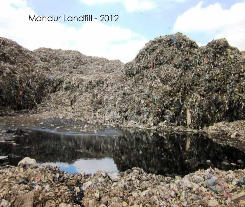 Mandur Landfill, 2012