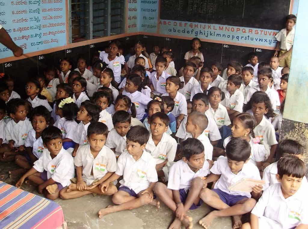 children in government school