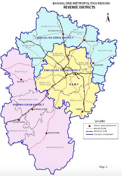 bangalore urban district map Forget Bbmp Bengaluru Needs A Strong Metropolitan Government bangalore urban district map
