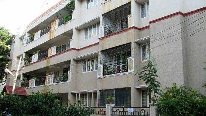 Appartment complex in Bengaluru