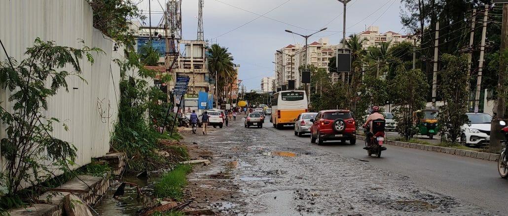 potholes on sarjapura road