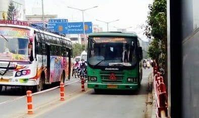 bus priority lane in bengaluru