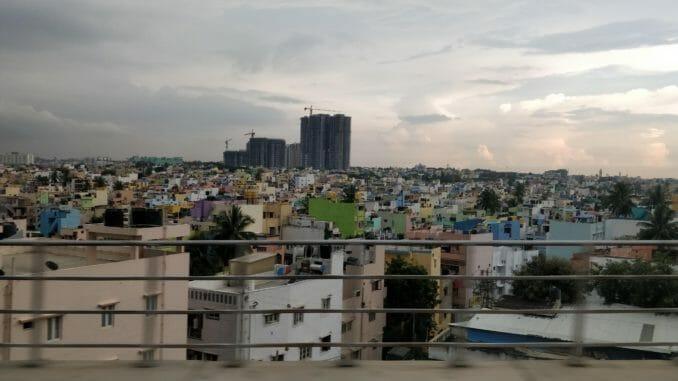 Bengaluru's urban sprawl