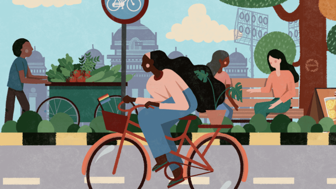 Guess why women avoid cycling in our city | Citizen Matters, Bengaluru