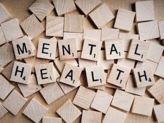 mental health spelt out on scrabble tiles