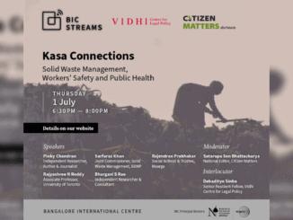 solid waste management event poster