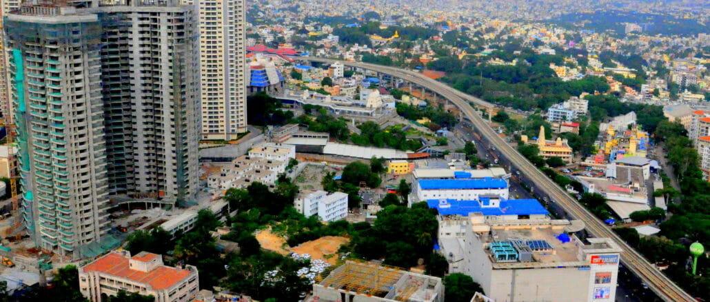view of bengaluru city