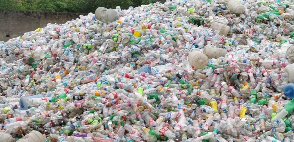 Ward level Plastic bottle waste aggregation