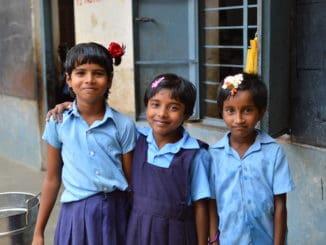 government school children