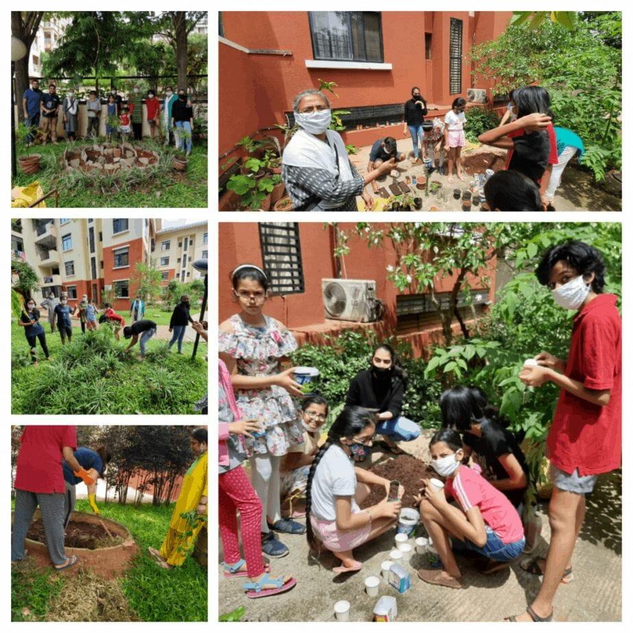 Resident volunteers