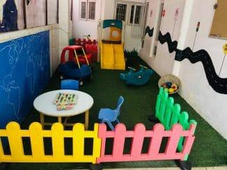 A closed preschool and daycare faclity in Bengaluru (Pic Courtesy: Jyotsna Arun)