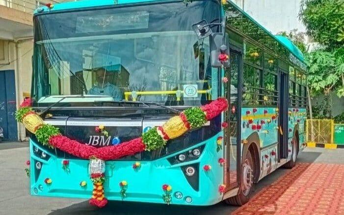 Bengaluru's first electric bus