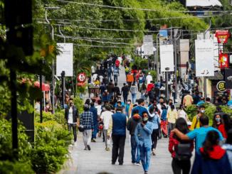 Church Street during Pedestrianization