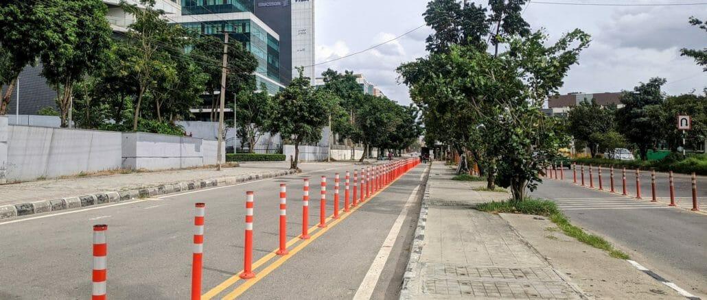 cycle lane on orr