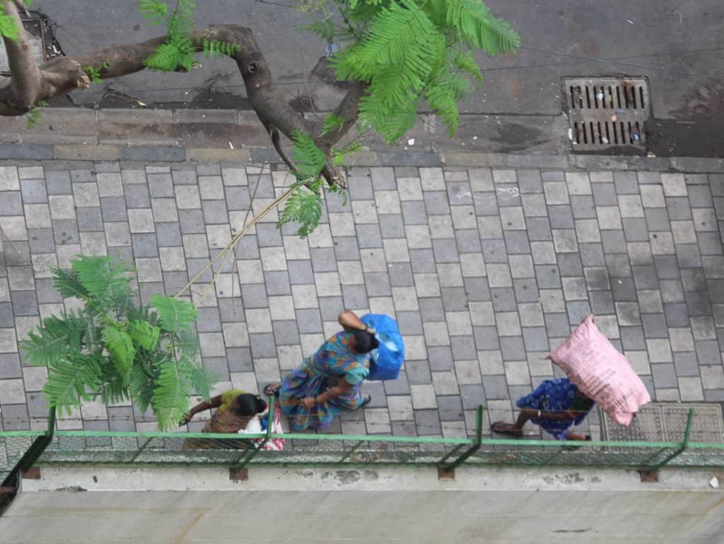rag picker women