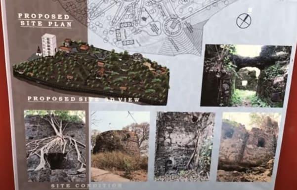 Belapur Fort proposed site plan