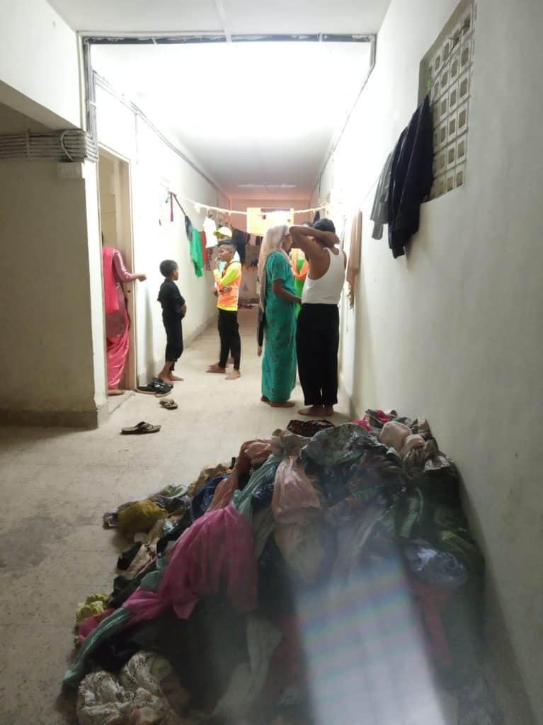 Inside Rehabilitation Colony, Vishnu Nagar, Chmebu