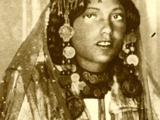 Nautch girl in Bombay