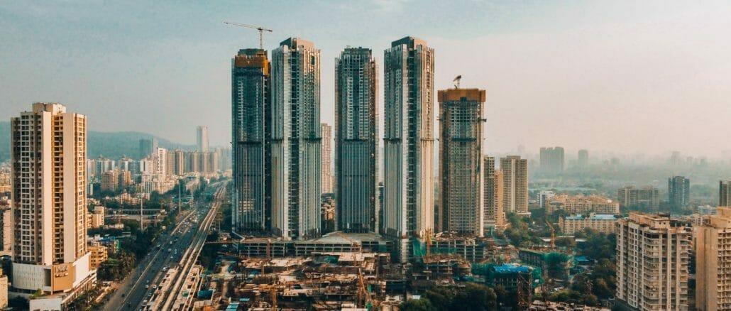 skyscrapers in Mumbai