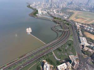 Mumbai's coastal road