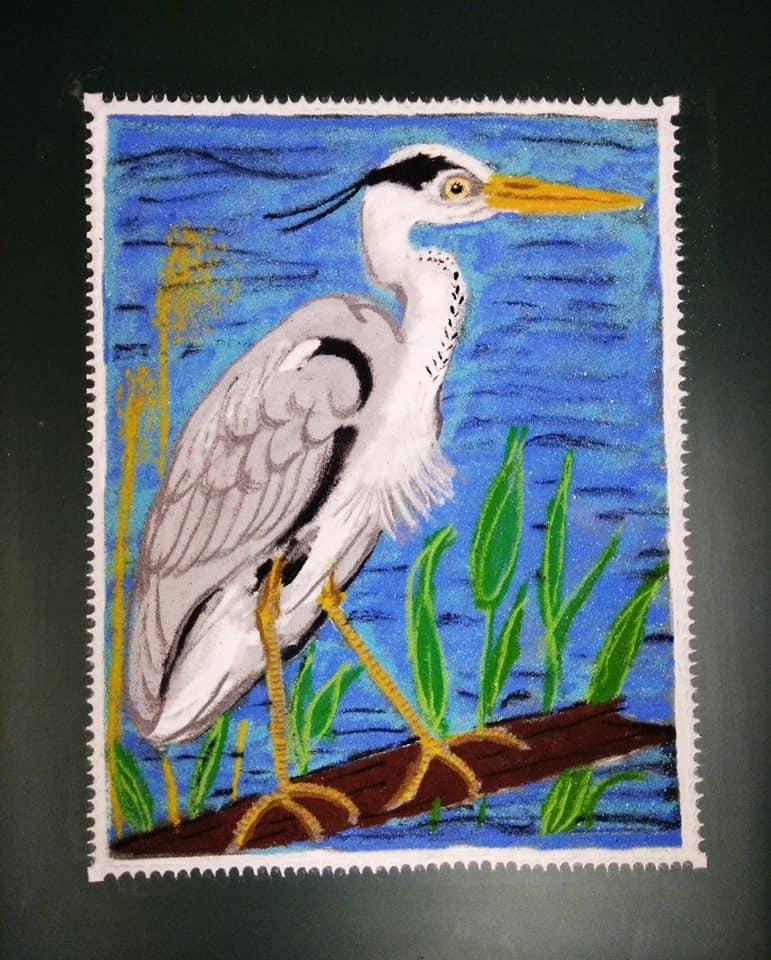 Chaturthi: Grey: Grey Heron