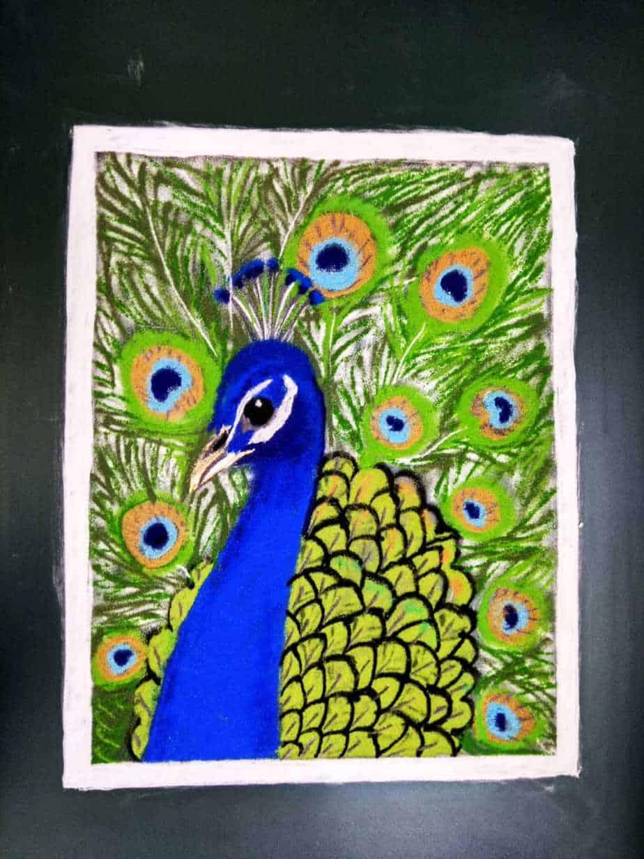 Prathama: Royal Blue: Peacock