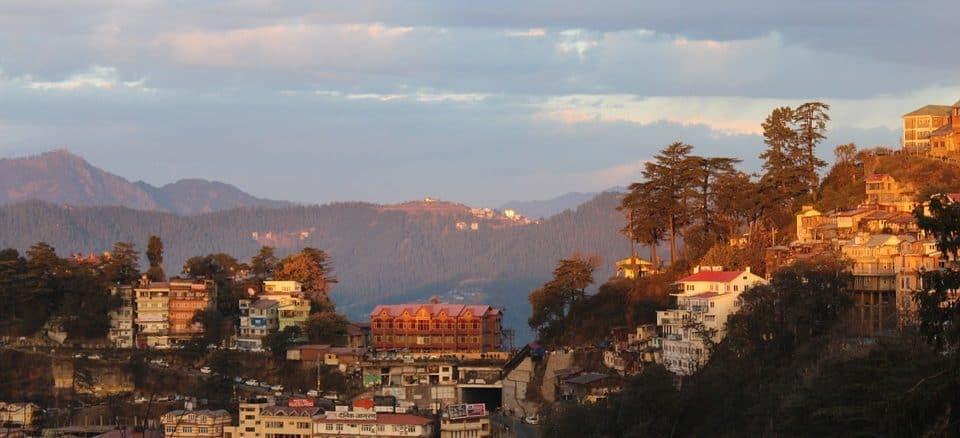 Shimla cityscape