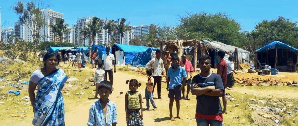 Migrant workers in the informal sector in Bengaluru