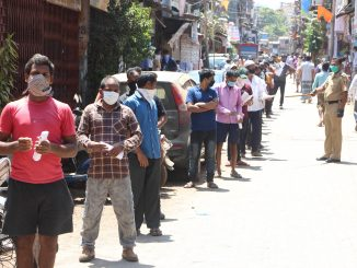 Some income guarantee in villages for migrant labour