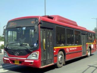 Delhi Transport Corporation Bus