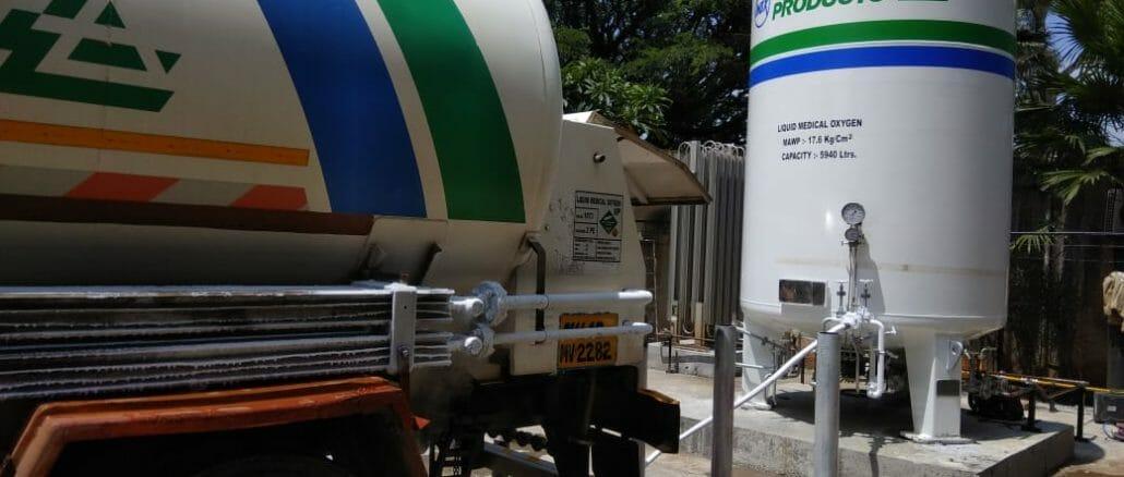 Medical oxygen plant in Pune