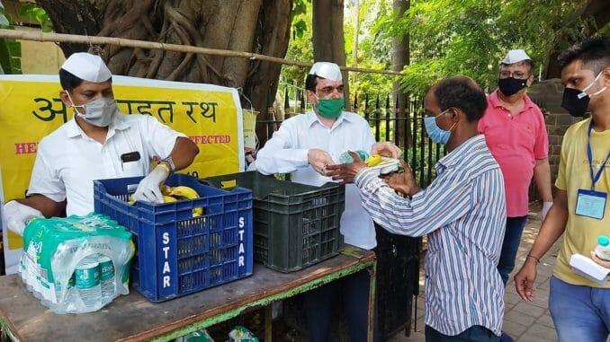 Urban poor in searchof alternate livelihoods. Mumbai Dabbawals