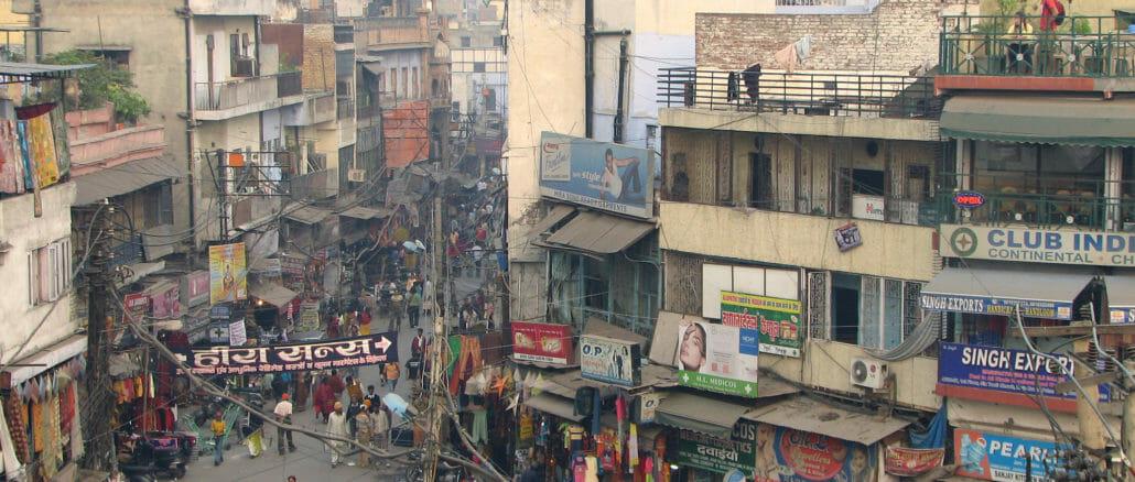 A view of Delhi City