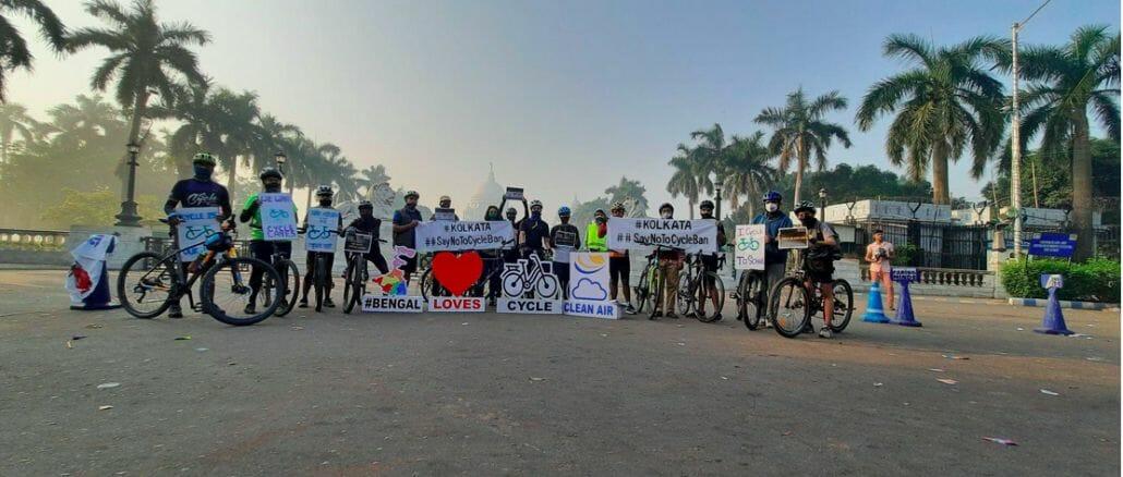 Kolkata cycle ban