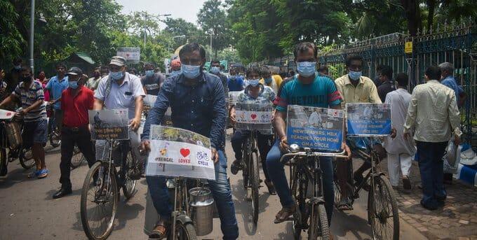 kolkata cyclists
